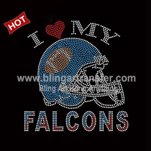 Iron-on Glitter Vinyl /& Rhinestone Transfer San Diego Chargers Bling NFL