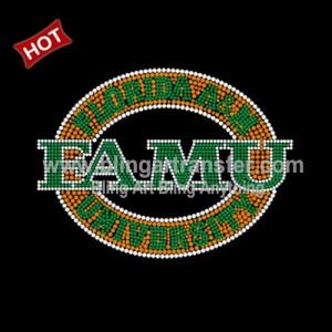 1a5dde829ec4 Wholesale Hotfix FAMU Rhinestone Transfer Motif for Coodies