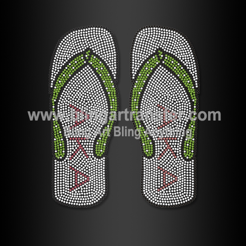 82ee3159fd05 ... Flip Flops with AKA Rhinestone Motif Wholesale. BRT-gk155 6×7.3