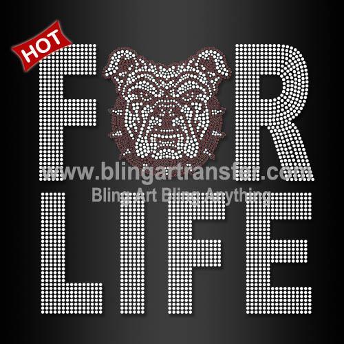 foto de Bulldogs Rhinestone Transfer For AAMU Life Iron On HBCU Motif