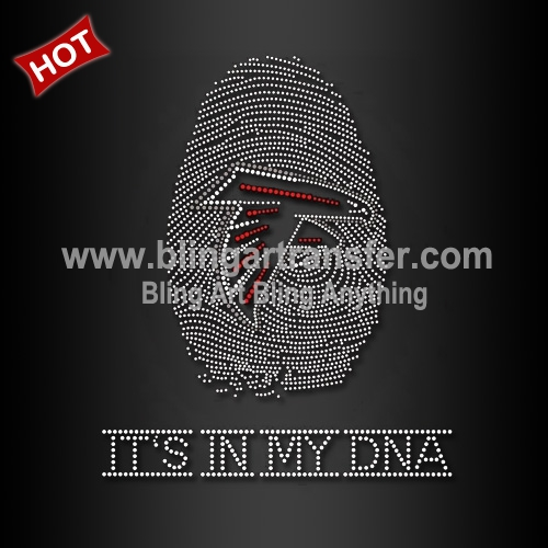 Atlanta Falcons Rhinestone Transfer